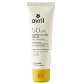 Avril AVRIL BIO gecertificeerd Zonnebrandcrème gezicht SPF50 50ml