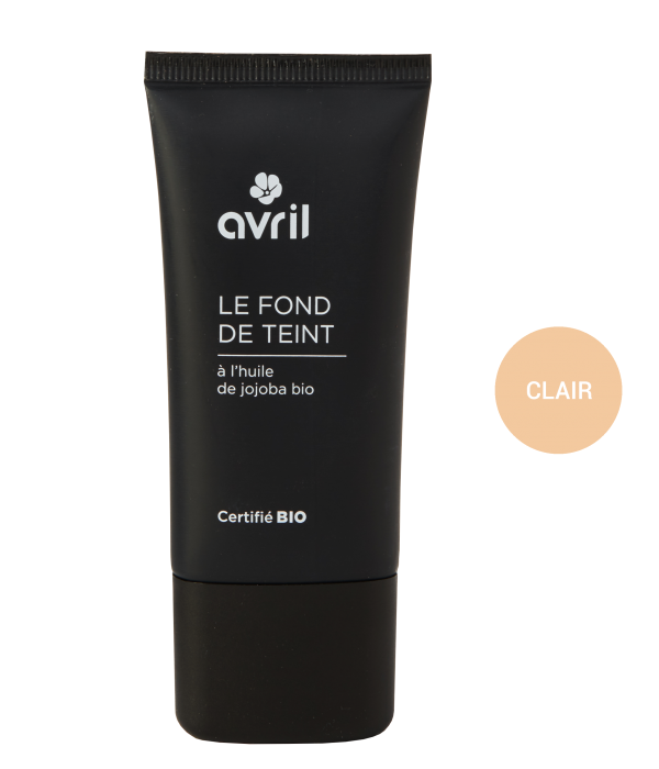 Avril Avril certified organic Foundation 30ml - CLAIR