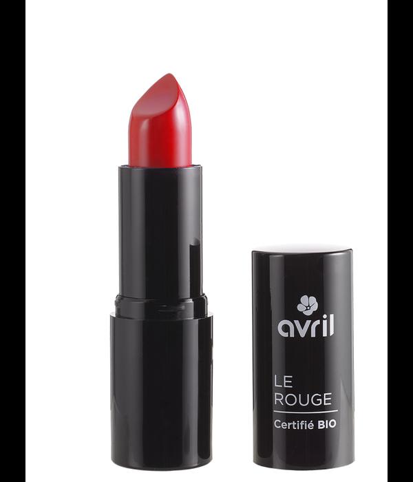 Avril BIO gecertificeerd Avril Lippenstift COQUELICOT N°597 ( flitsend rood)