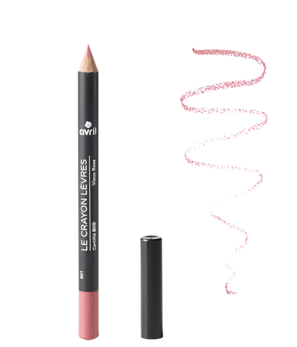 Avril Avril certified organic LIP PENCIL VIEUX ROSE