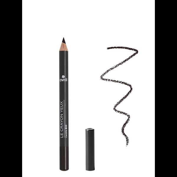 Avril certified organic Eye pencil charbon black