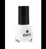Avril Avril certified organic NAIL POLISH 7ml - FRENCH BLANC N°95