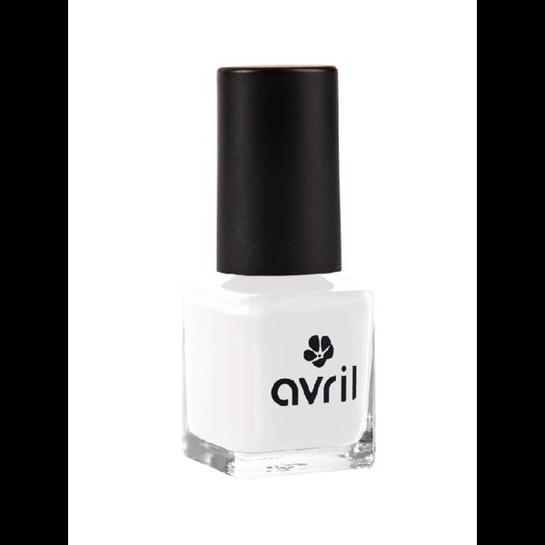 Avril certified organic NAIL POLISH 7ml - FRENCH BLANC N°95