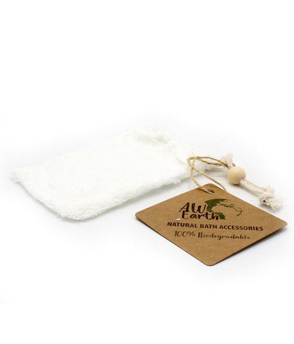 All Earth Nature Soap Bag - Bamboo