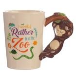 Puckator Ceramic Mug with a Monkey Handle