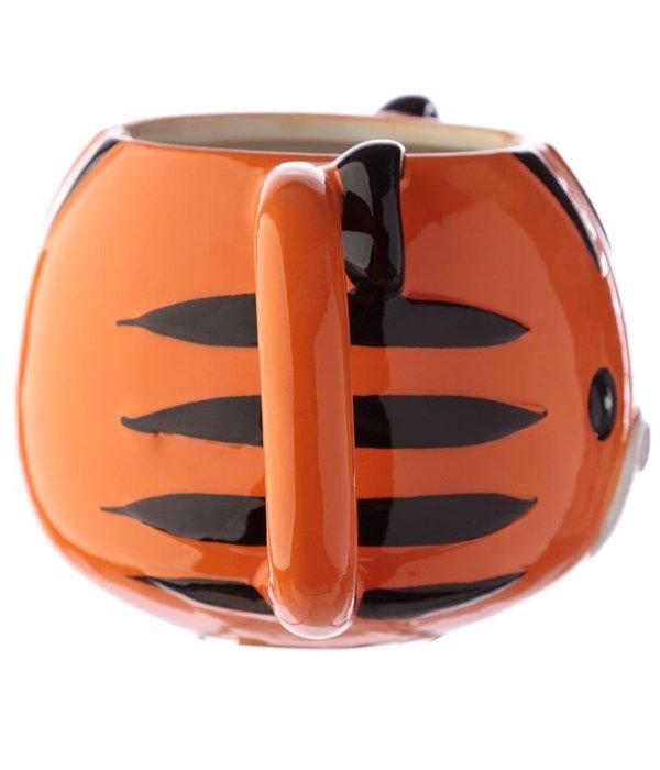 Ceramic Tiger Head Mug