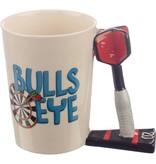 Puckator Ceramic Mug with Dart Shaped Handle