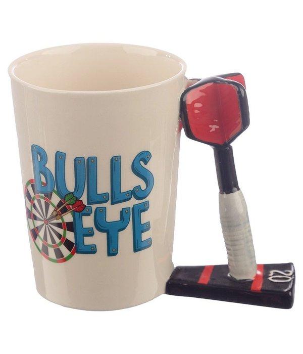 Ceramic Mug with Dart Shaped Handle