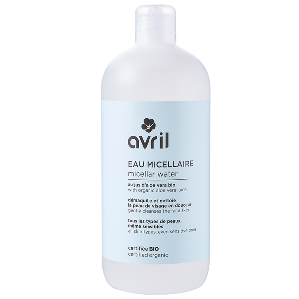 BIO gecertificeerd MICELLAR WATER 500ml