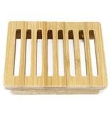 AW Home Hemu Wood Soap Dish - Box