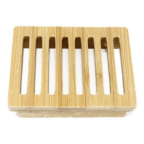 Hemu Wood Soap Dish - Box