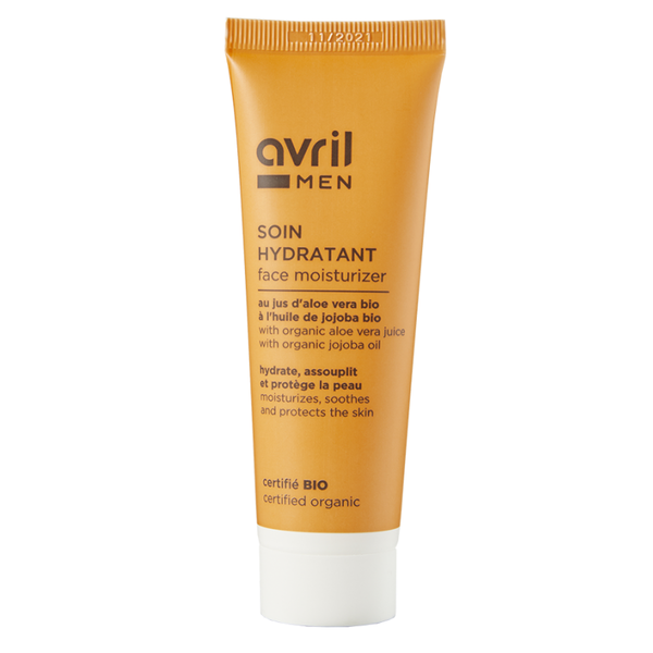 Organic Face Moisturizer For Men Avril 50ml