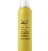 Avril BIO gecertificeerd Spray Deodorant voor mannen 150ml