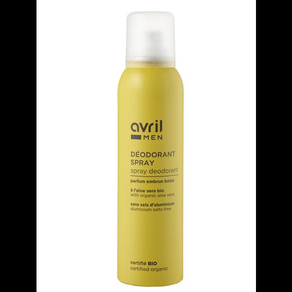 Organic Spray deodorant For Men Avril 150ml