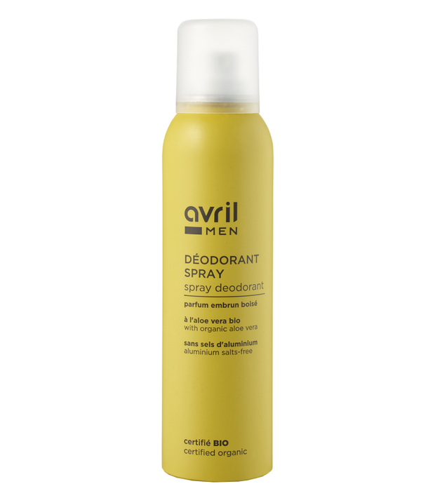 Avril Organic Spray deodorant For Men Avril 150ml