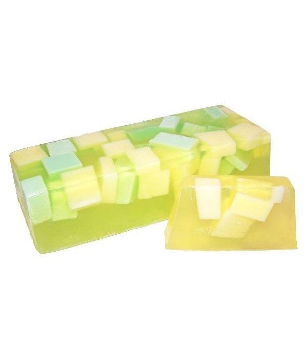 Natuurlijke handgemaakte zeep meloen