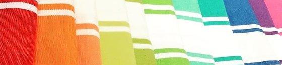 Hamamdoeken en strandlakens