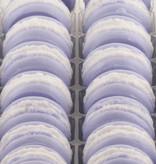 Macaron zeep in diverse geuren