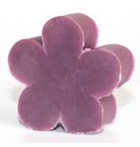 Kleine bloemvormige gastenzeep