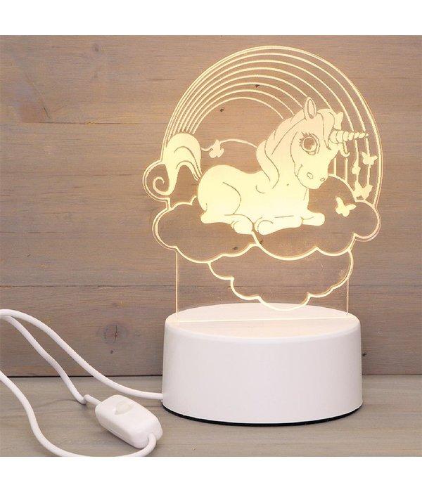Labi LED lamp Unicorn Rainbow