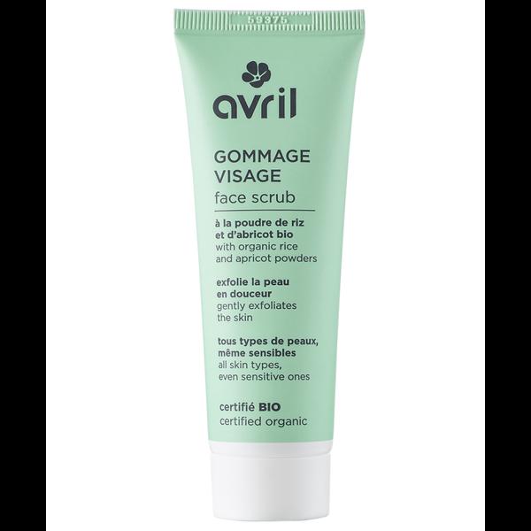 BIO gecertificeerd  Gezichtsscrub 50ml  - Alle huidtypes (ook gevoelige huid)