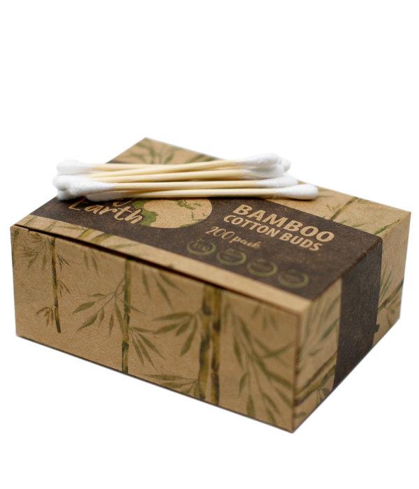 AW Accessoiries Bamboe wattenstaafjes  doos met 200 stuks