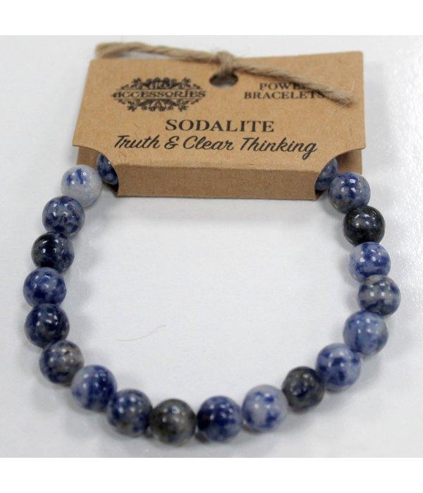 AW Accessoiries Power Bracelet - Sodalite