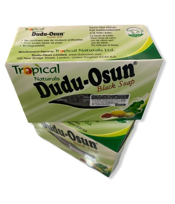 Tropical Naturals Dudu Osunn Black soap