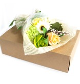 Bathroom Heaven Boxed Hand Soap Flower Bouquet - Green - Special