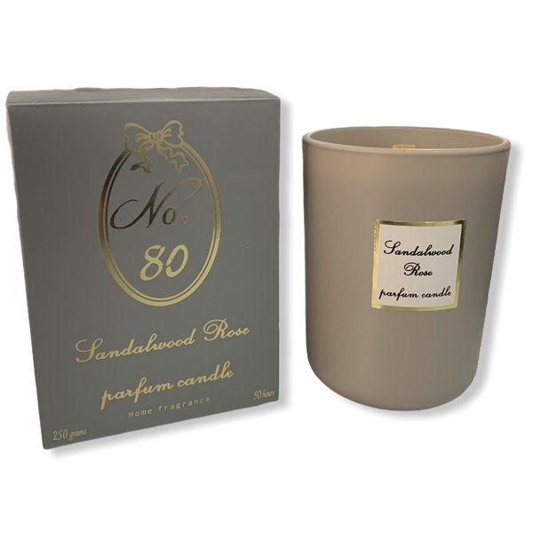 Scented candle Sandalwood Rose So Magic 250gr