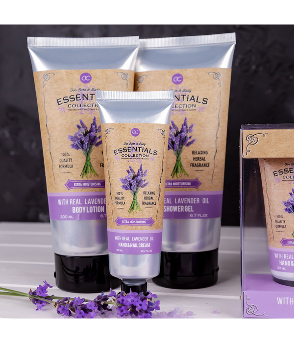 Accentra Body Lotion LAVENDER enriched with lavender oil