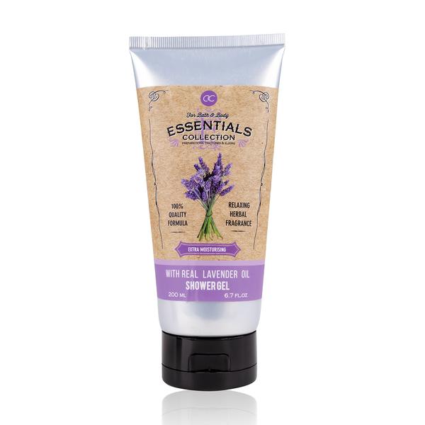 Shower Gel enriched with lavender oil