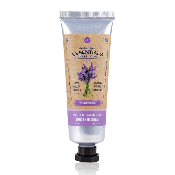 Hand & nail cream infused with lavender oil