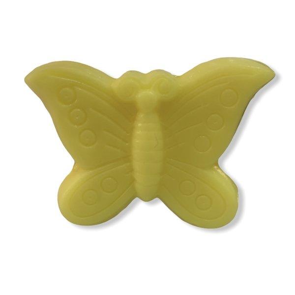 Zeep in de vorm van een vlinder