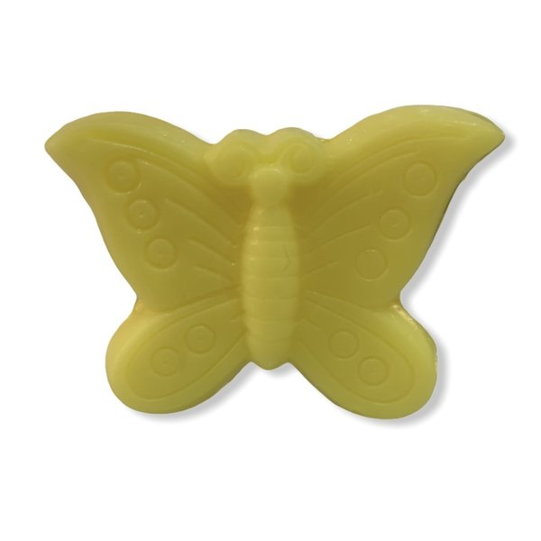 Soap in the shape of a butterfly yellow