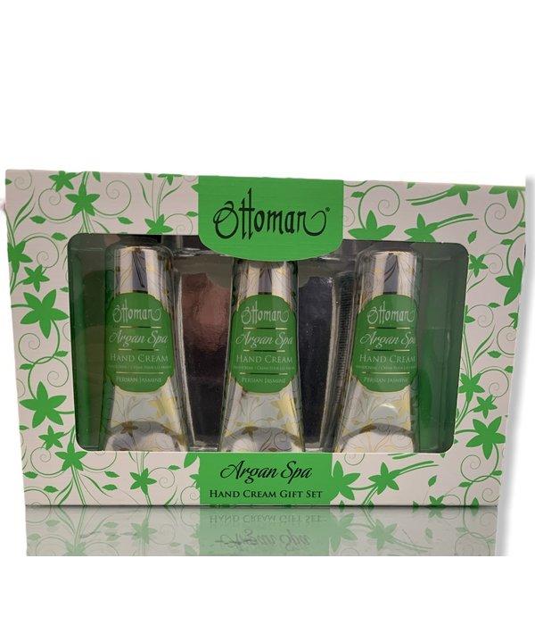 Ottoman Atelier Hand cream Ottoman Argan Spa - Persian Jasmine gift set