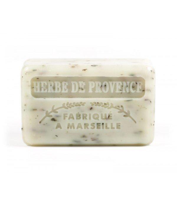 La Savonnette Marseillaise Marseille soap - Herbe de Provence  ( Provence grass)