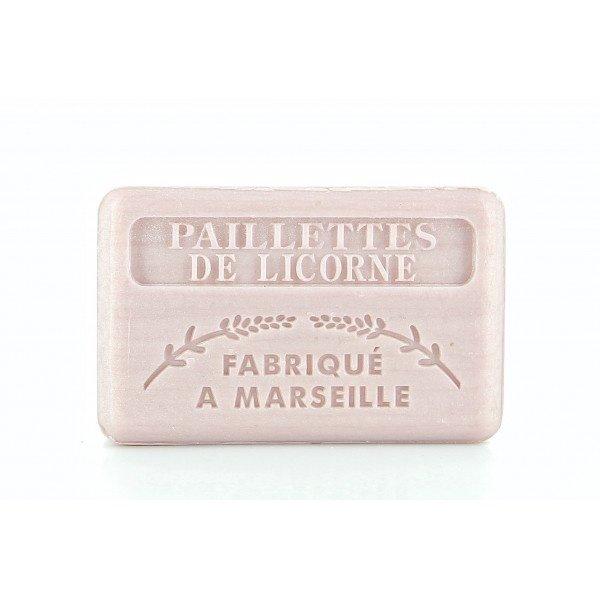 Marseille soap - Unicorn with glitters