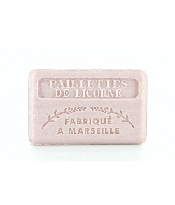 La Savonnette Marseillaise Marseille soap - Unicorn with glitters