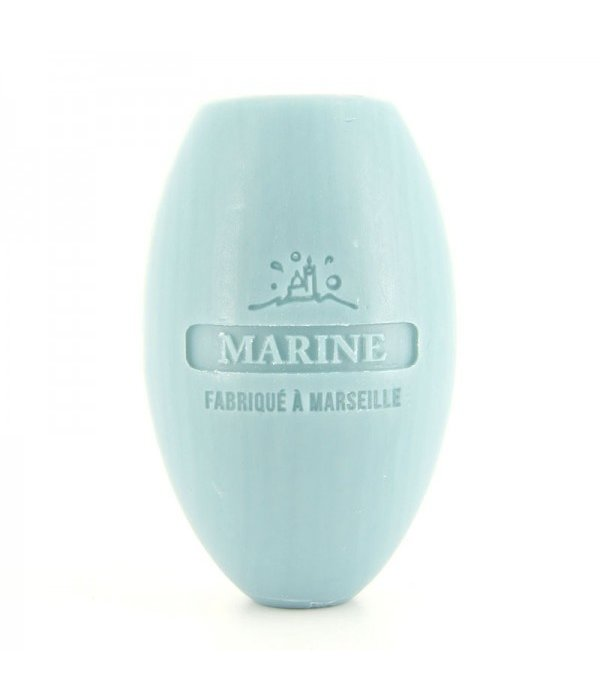 La Savonnette Marseillaise Rotating Wall-Mounted Soap - Marine