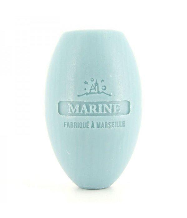 La Savonnette Marseillaise Zeep aan koord ovaal Marine 240 g