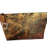 Make notes Envelope Cosmetic Bag - Rust