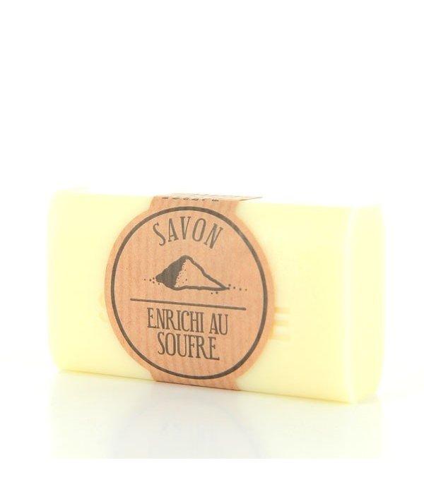 Handgemaakte zeep met zwavel 100g