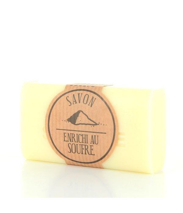 La Savonnette Marseillaise Handmade Sulfur soap 100g