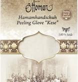 Ottoman Atelier Silkworm Peeling Hamam Glove 100% Silk
