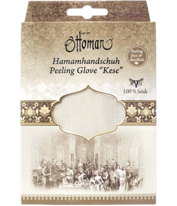 Turkse Hamam peeling handschoen 100% natuurzijde