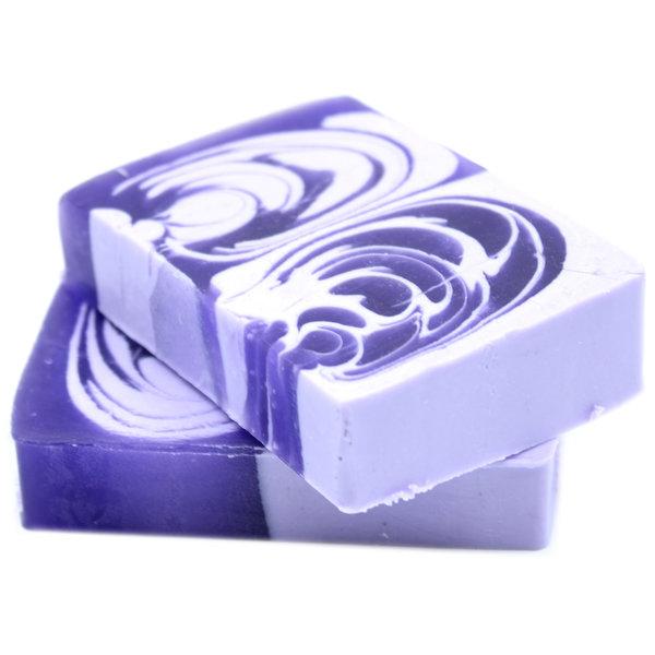 Handmade Soap Loaf Lilac