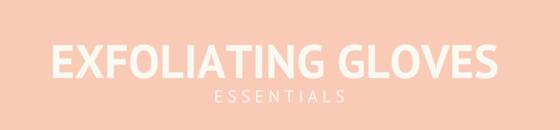Exfoliating & Massage gloves and sponges