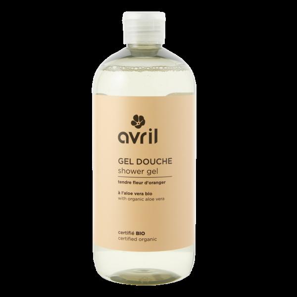 Avril certified organic ORANGE BLOSSOM Shower Gel 500ml