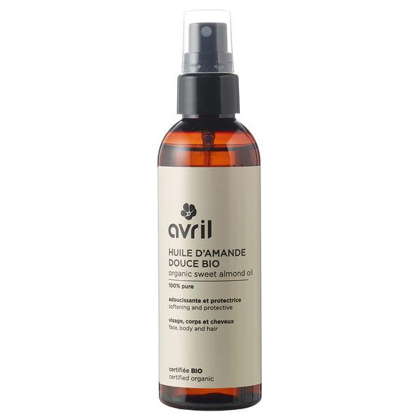 Avril certified organic sweet almond oil 100ml